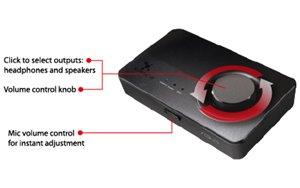Dedizierte Regelungen für die Mikrofon- und Gesamtlautstärke