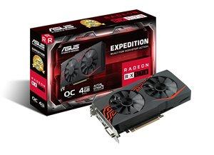 ASUS EX-RX570-O4G Gaming Grafikkarte