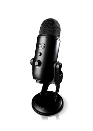 Blackout Yeti USB Mic for Professional Recording