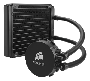 Low noise, high performance CPU cooling for 140mm fan mounts