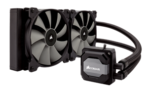 A 280mm radiator and dual SP140L PWM fans provide the excellent heat dissipation you need for highly overclocked CPUs