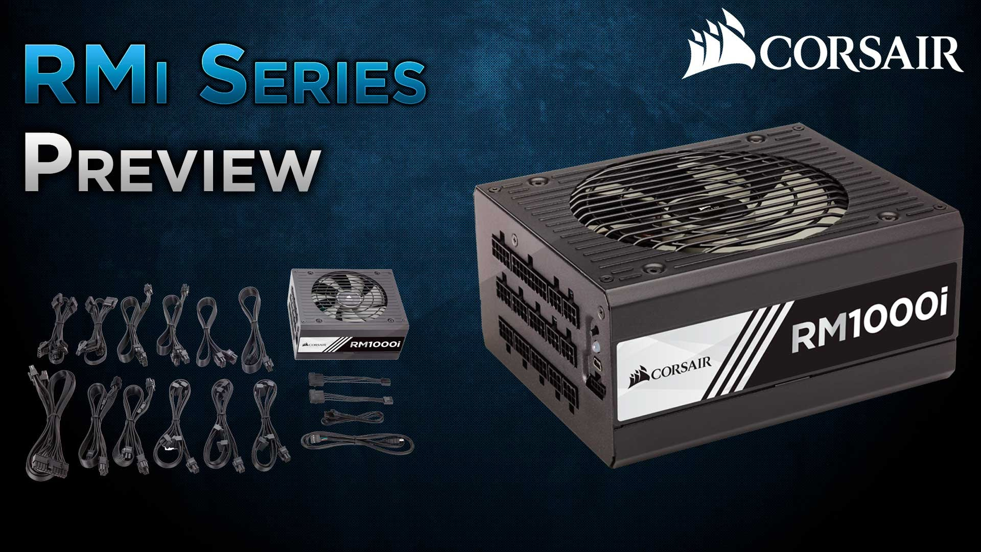 Corsair Rmi Series Rm1000i 1000w 80 Plus Gold Haswell Ready Full Thermostat Wire 20 Gauge 8 250 Ft Vinyl Jacketneweggcom Slide 1 Of 8show Larger Image Premium Components For Great Performance With Very