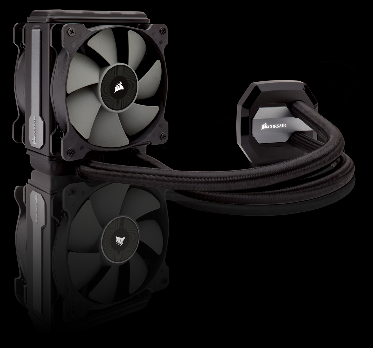 slide 1 of 7,show larger image, the flexible, powerful 120mm liquid cpu cooling system for high performance pcs.