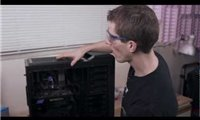 slide 1 of 7,zoom in, linus tech quickie: installing the hydro series h90 140mm high-performance liquid cpu cooler