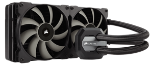 A 280mm radiator and dual SP140L PWM fans provide the extreme cooling you need for highly overclocked CPUs