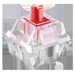 100 % mechanische Cherry MX Red Tastenschalter