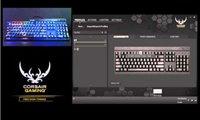 Corsair Gaming K65 RGB Cherry MX Red Mechanical Gaming Keyboard (CH