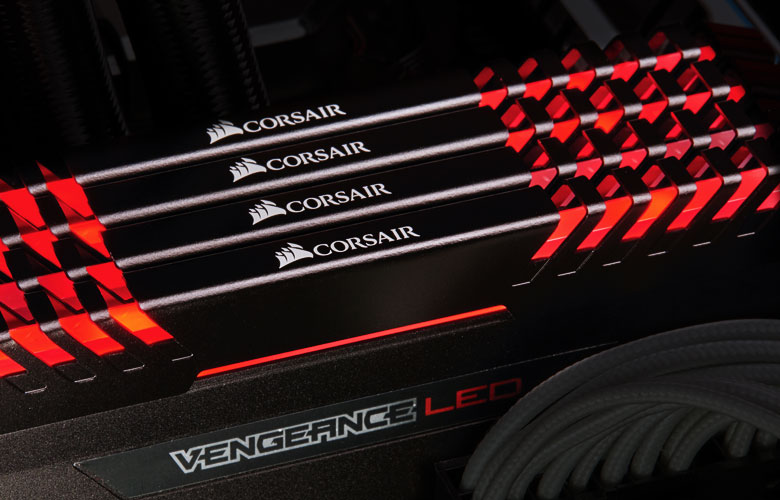 CORSAIR Vengeance LED 16GB (2 x 8GB) 288-Pin DDR4 SDRAM DDR4 3200 (PC4  25600) Desktop Memory Model CMU16GX4M2C3200C16R - Newegg com
