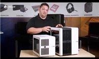 PC-Gehäuse der Carbide Series® Air 240 MicroATX und Mini-ITX mit hohem Luftdurchsatz