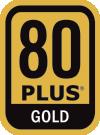 80 PLUS Gold-zertifizierter Wirkungsgrad