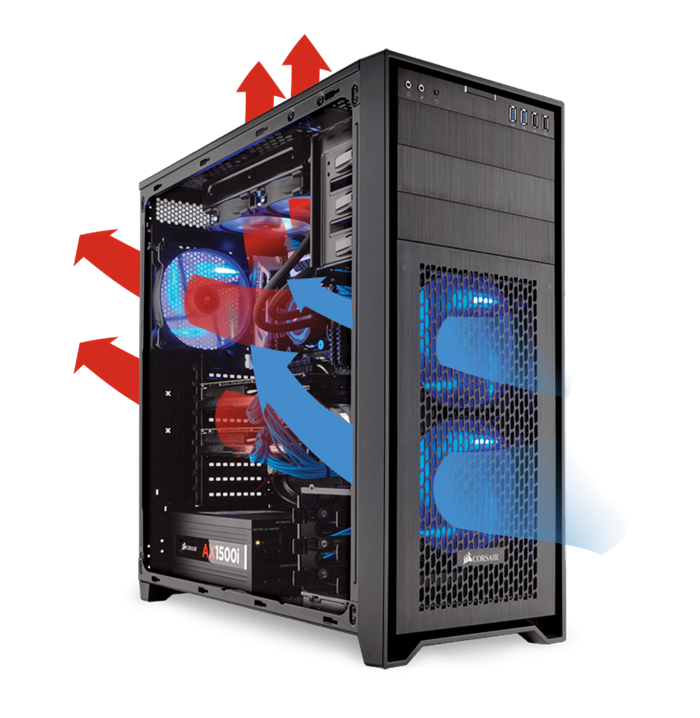 Obsidian Series 750d Airflow Edition Full Tower Case