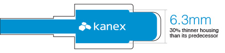 Kanex Ultra-Slim Connector 20% smaller