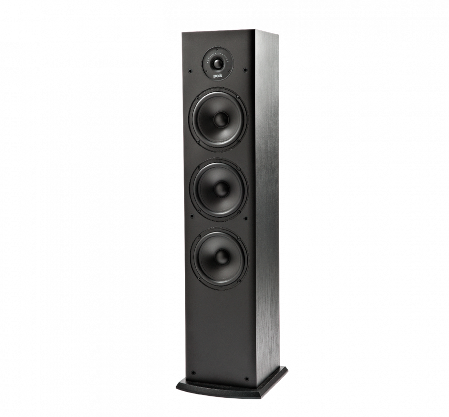 Polk Audio T50 Home Theater And Music Floor Standing Tower Speakers Single Black Newegg Com