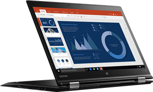 "Lenovo ThinkPad X1 Yoga: WORLD'S LIGHTEST 14"" BUSINESS 2-IN-1"