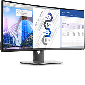 Dell UltraSharp 34 Curved Monitor - U3417W