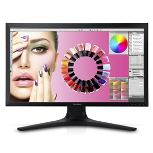 "ViewSonic VP2772 27"" IPS AdobeColor 1440p Pro Monitor HDMI, Daisy Chain"