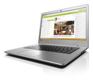 "Lenovo Ideapad 510S Laptop: A powerful 14"" laptop that keeps us with you"