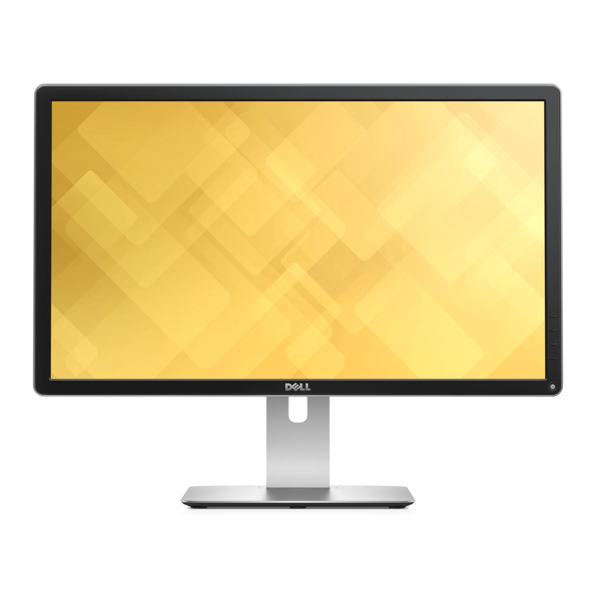 slide 1 of 8,show larger image, dell 24 ultra hd 4k monitor - p2415q