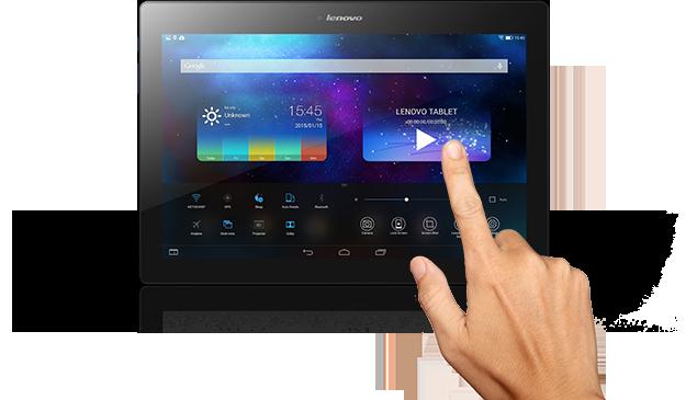 Lenovo TAB 2 A10-70F ZA00 - Tablet - Android 4 4 (KitKat) - 16 GB eMMC -  10 1