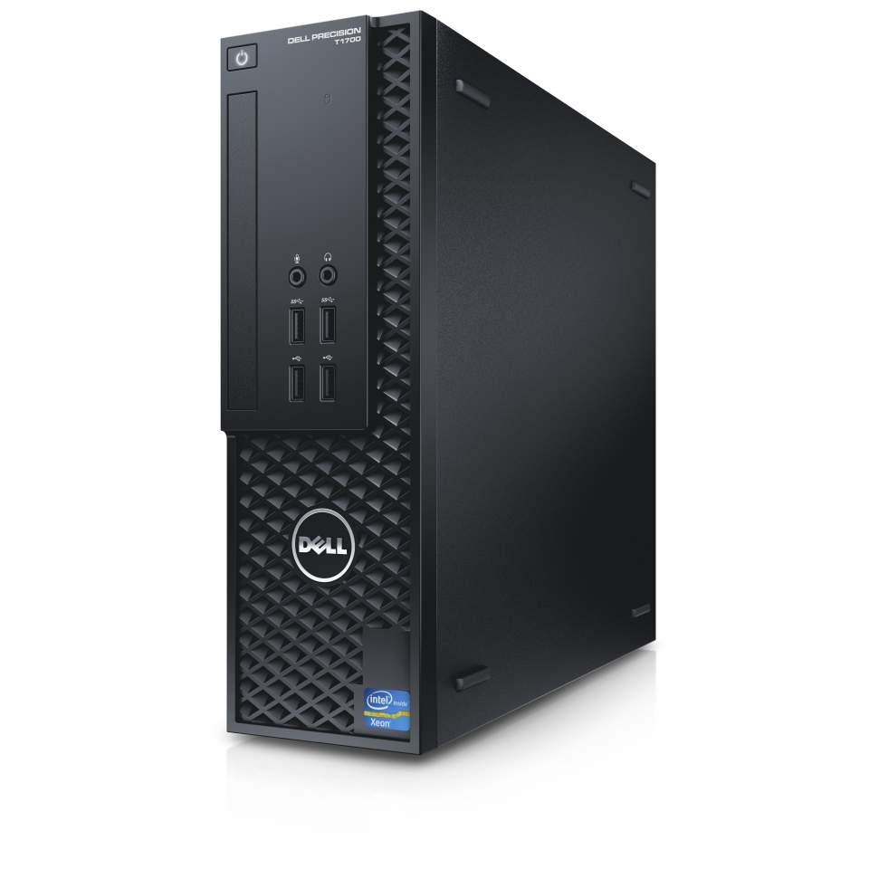 Dell Precision T1700 Small Form Factor Workstation 1 X Processors Processor I3 4130 Supported Intel Core Dual 2 340 Ghz By Office Depot Officemax