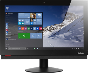 Lenovo ThinkCentre M800z All-in-One Desktop: SLEEK, POWERFUL, RUGGED AIO FOR PRODUCTIVITY