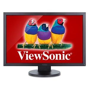 "ViewSonic VG2438SM 24"" IPS 1200p Ergonomic Monitor DisplayPort, DVI, VGA"