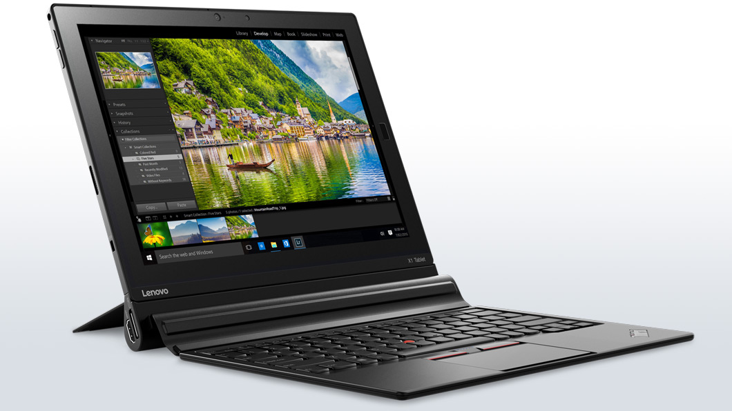 slide 3 of 8,show larger image, lenovo thinkpad x1 tablet