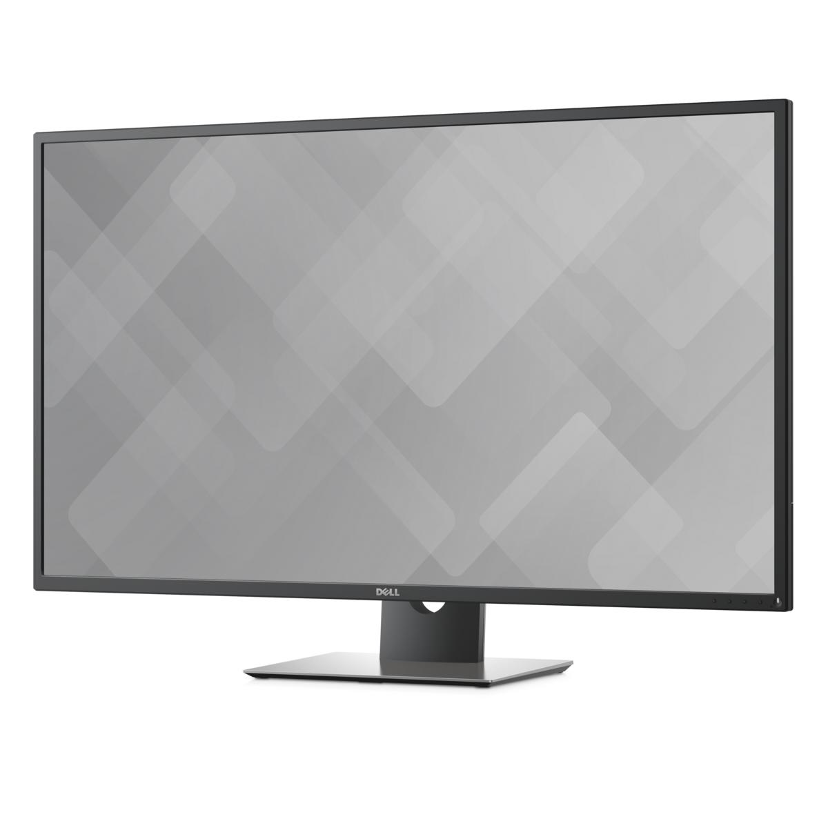 slide 1 of 9,show larger image, dell 43 ultra hd 4k multi-client monitor - p4317q