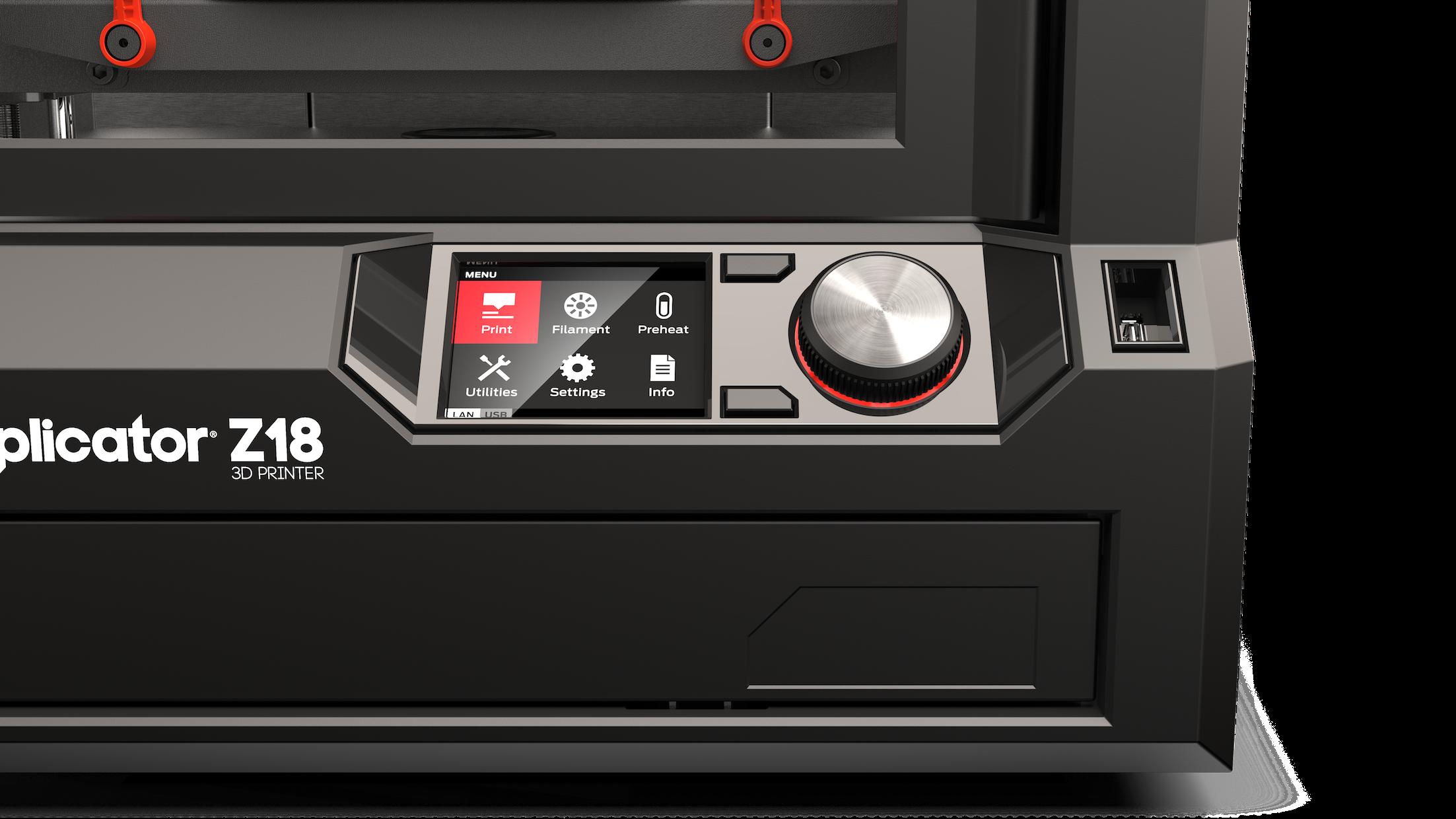 Makerbot replicator z18 wireless 3d printer by office depot makerbot replicator z18 wireless 3d printer by office depot officemax fandeluxe Choice Image