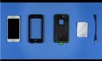 slide {0} of {1},show larger image, lifeproof iphone 6 fre case installation setup video