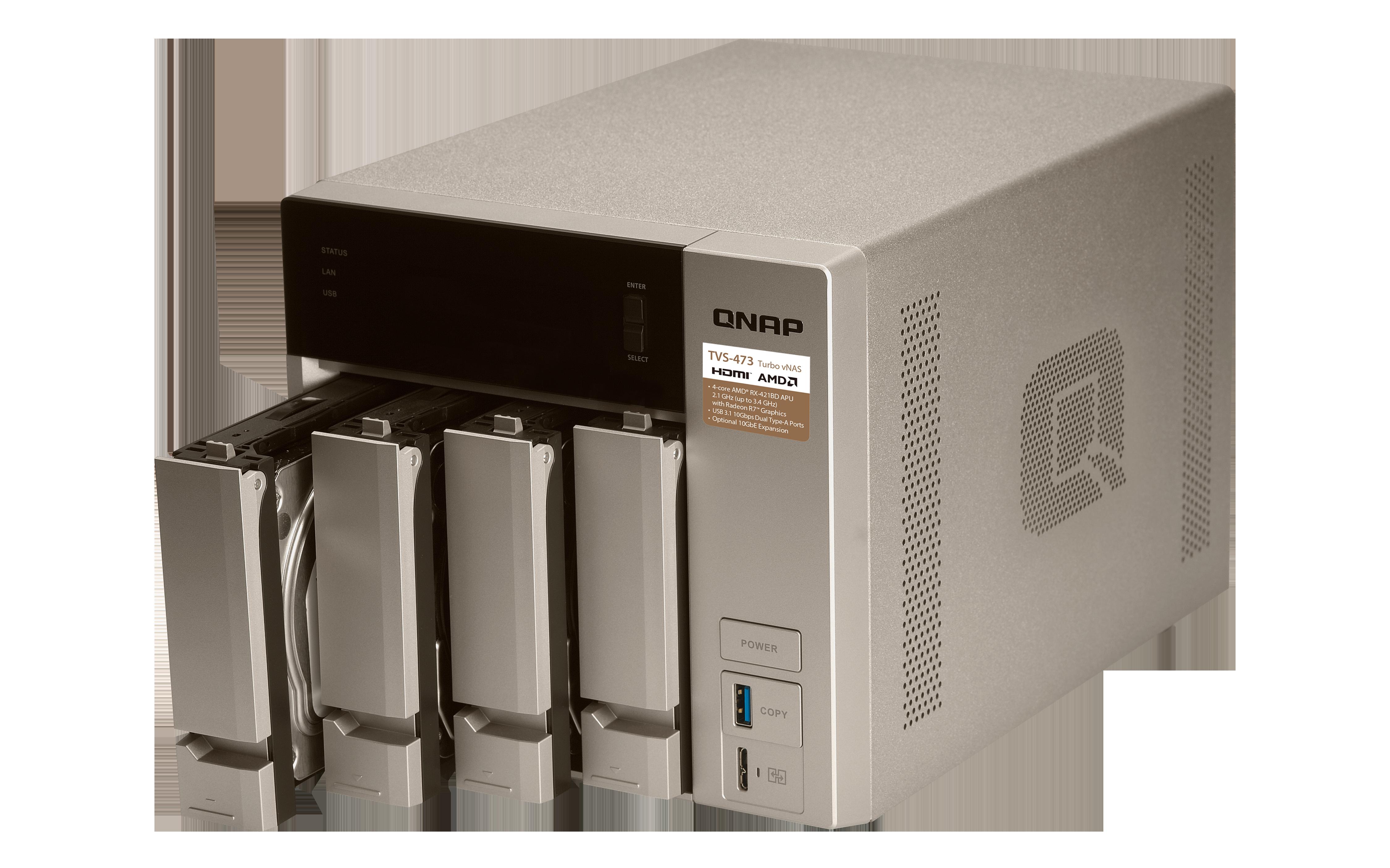 Qnap Tvs 473 8g 4 Bay Nas Desktop Bt Shop Ts 228 2 Server External Storage