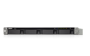 QNAP TS-463U-RP-4G 8TB 4 x 2TB WD RED PRO 4 Bay Rack with 4GB RAM