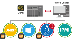 QRM+: Centralized Remote Server Management Solution