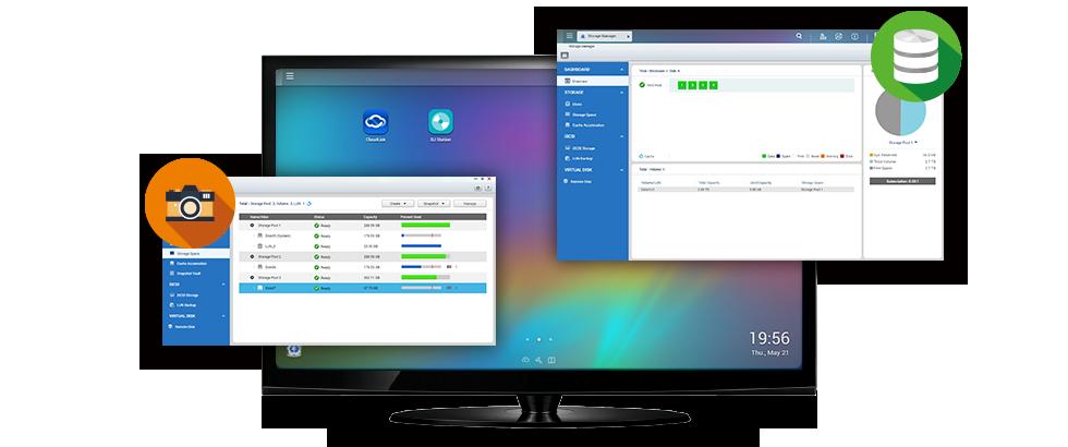 QNAP TVS-873-16G 8 Bay NAS - Laptops Direct