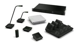 Revolabs Executive Elite 4 & 8 Channel Wireless Microphone System