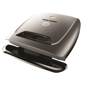 George Foreman GR2121P 8 Serving Classic Plate Grill