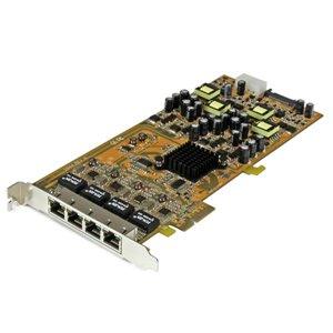 Ajoutez 4 ports Gigabit Ethernet PoE à un ordinateur compatible PCI Express