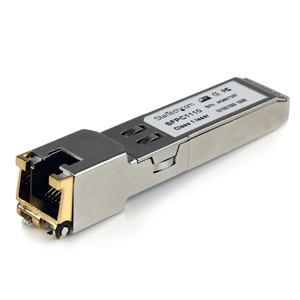StarTech.com Cisco Compatible Gigabit RJ45 Copper SFP Transceiver Module