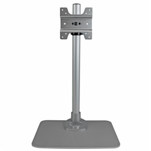 "Place a display, up to 30"" in size, at your desk, using this height-adjustable monitor mount with integrated cable management"