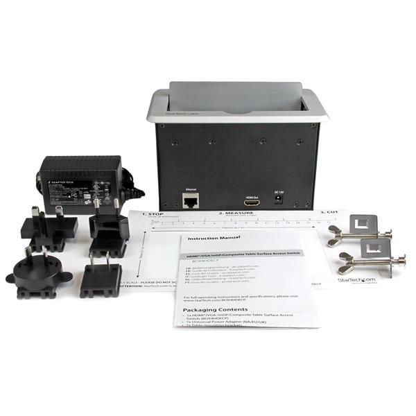 StarTechcom HDMI VGA Mini DisplayPort To HDMI Output W Fast BOXHDECP - Conference table hdmi port