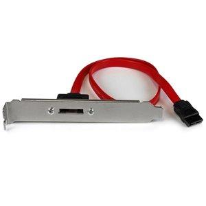 Turn a standard SATA motherboard connection into an external eSATA port