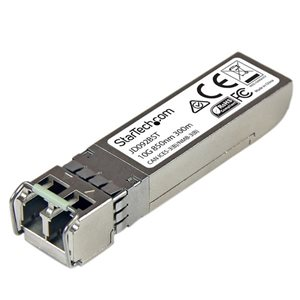 Ensure reliable, cost-efficient 10Gb Ethernet connections over multimode fiber with this Mini-GBIC module