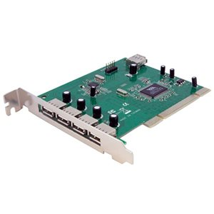 Add 7 USB 2.0 Ports to your PC through a PCI slot