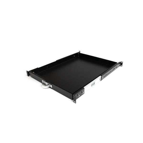 The Ability To Switch From A Sliding Shelf, To A 1U Sliding Drawer Provides  Versatility