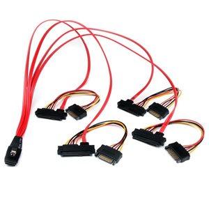 Connect a SAS Controller to 4 SAS drives