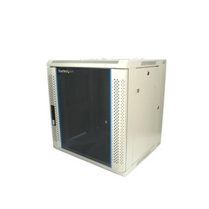 Store your servers, network and telecommunications equipment securely in this 12U wall-mountable rack