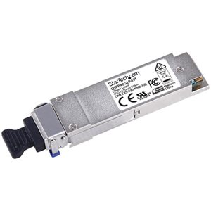 Count on powerful performance and cost-effective 40 Gigabit Ethernet connections over single-mode fiber with this QSFP+