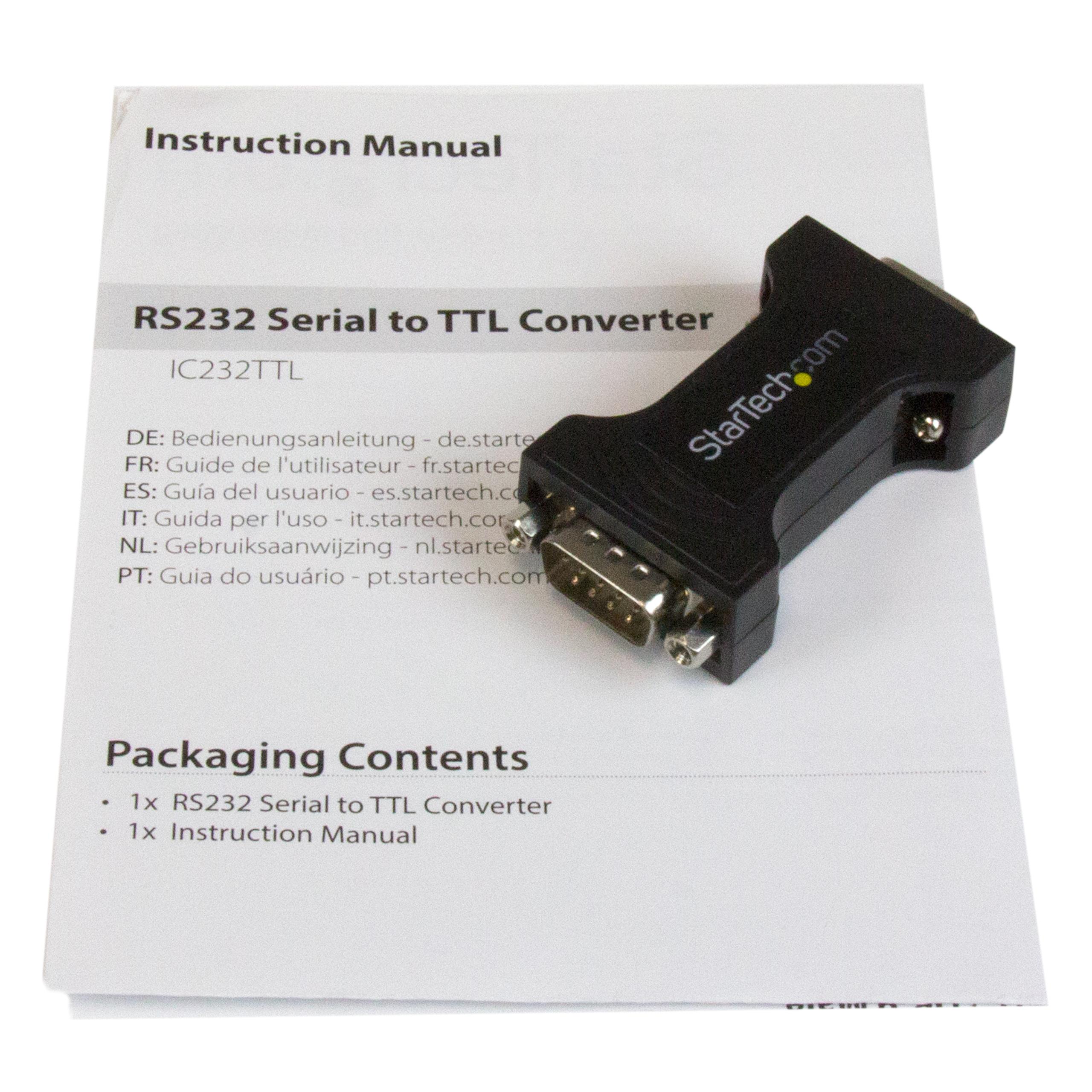 STARTECH IC232TTL NEW IN BOX IC232TTL