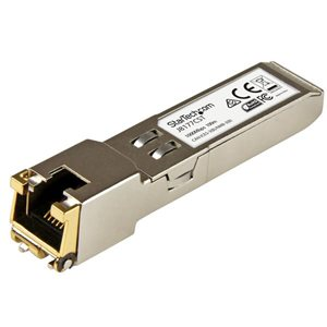 Ensure reliable and cost-efficient Gigabit Ethernet connections with this RJ45 Mini-GBIC module