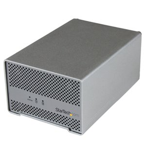 """Add two 2.5"""" SATA HDDs, up to 15mm in height, to your Mac® or PC through Thunderbolt, with a well-ventilated storage solution that helps keep your drives running cool"""